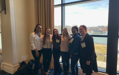 CJ students and faculty  present research at ACJS