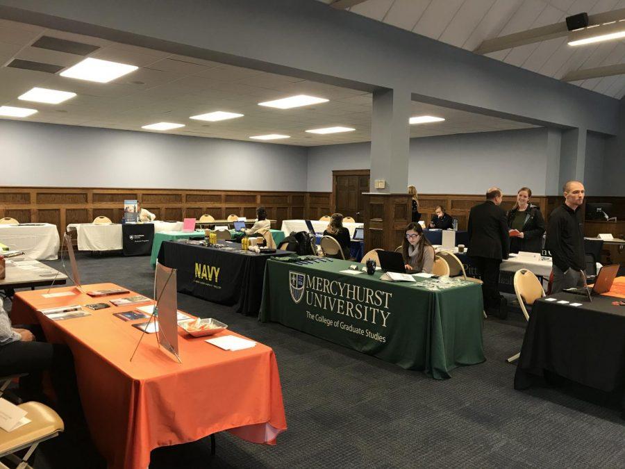 Career Development hosts grad school fair