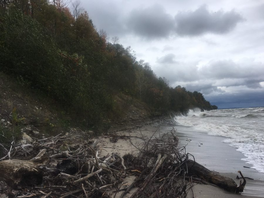 Bluff erosion model helps restore Lake Erie shoreline