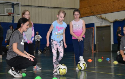 Young athletes participate in Women and Girls in Sports Day