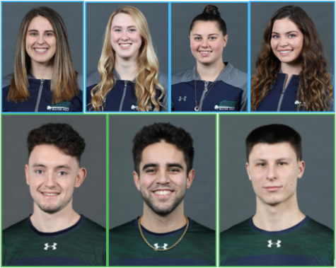 Recognizing Senior Athletes: Women's Water Polo and Men's Tennis