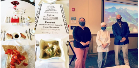Hospitality students host annual dining series