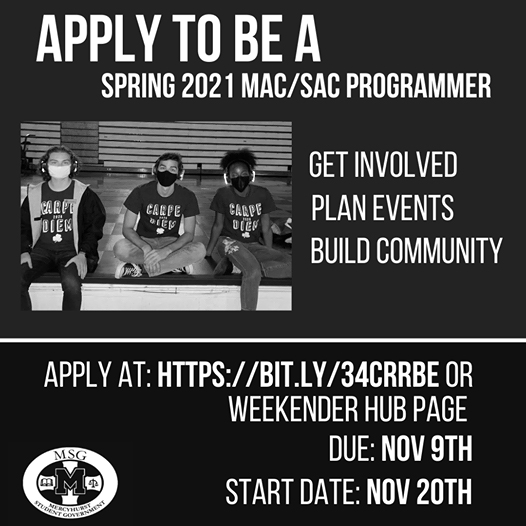 MAC/SAC seeks new programmers