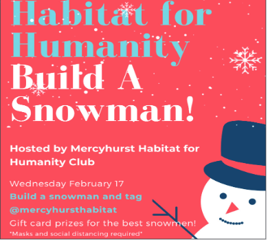 Habitat for Humanity builds snowmen over houses