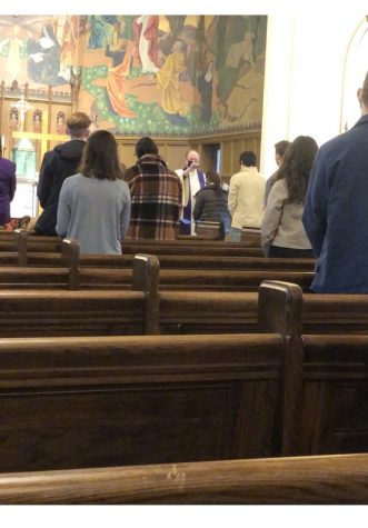 Mercyhurst celebrates Ash Wednesday with various COVID-friendly ceremonies