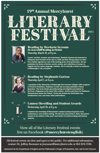 19th annual Literary Festival goes virtual over Zoom and Facebook