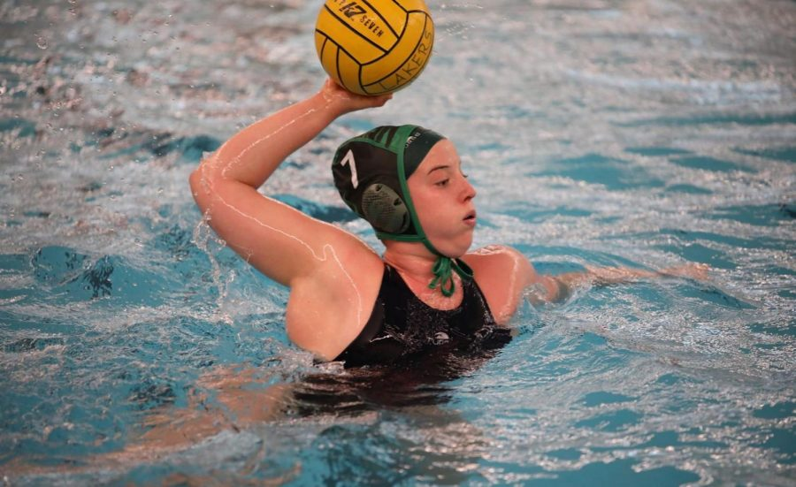Womens water polo open season with wins