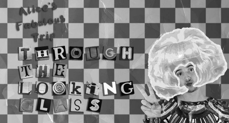 """Student Braden Rosciszewski as Alice in """"Alice's Fabulous Trip Through the Looking Glass."""""""