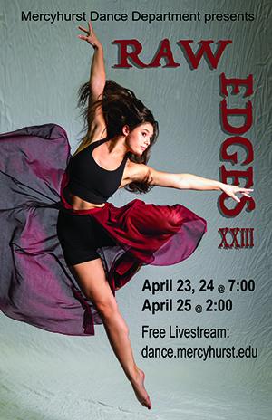 Raw Edges concert poster.