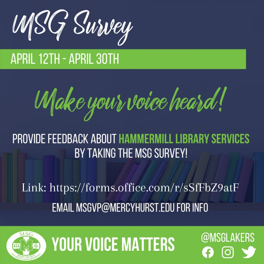 MSG Hammermill survey is live