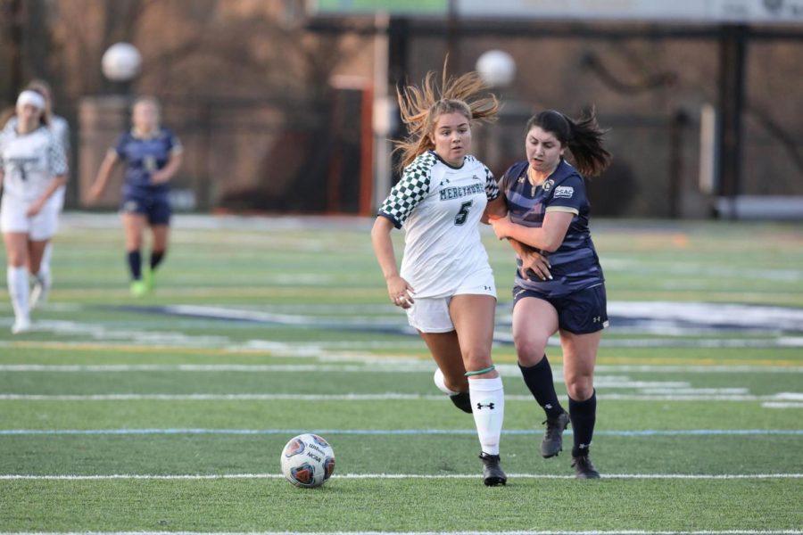 Women's soccer ties Gannon